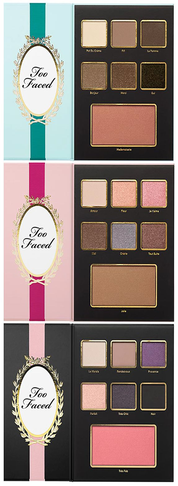 Too Faced Christmas in Paris Holiday 2015 Makeup Palettes #makeup | cynthia reccord