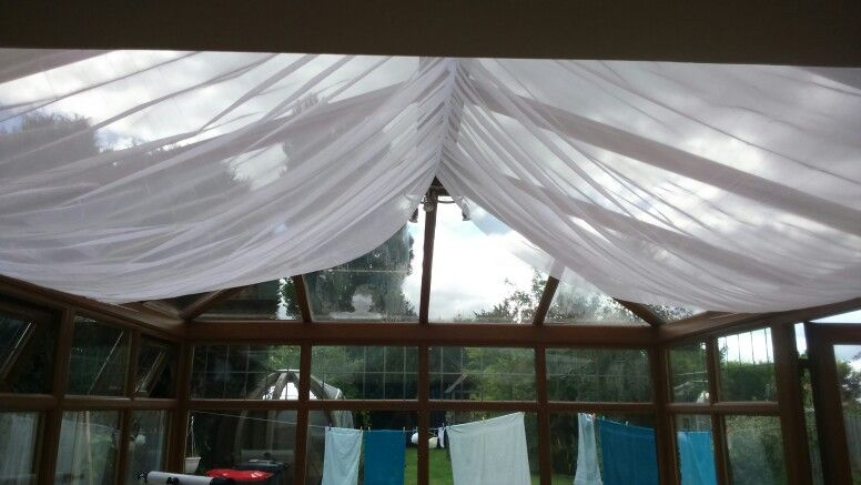 Conservatory Ceiling Drapes Conservatory Roof Blinds Conservatory Roof Conservatory Decor