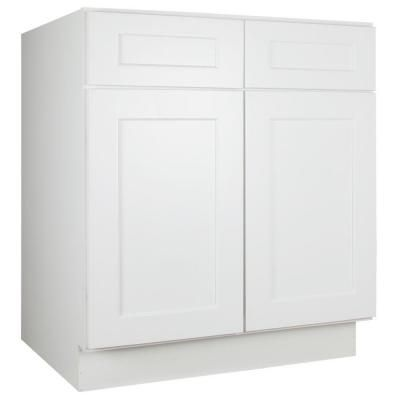 Captivating Lakewood Cabinets 30x34.5x24 In. All Wood Sink Base Kitchen Cabinet With  Double Doors