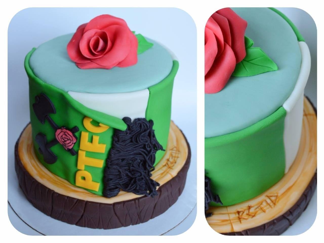 Phenomenal Portland Timbers Cake Let Them Eat Cake Cake Creations Grooms Cake Birthday Cards Printable Giouspongecafe Filternl
