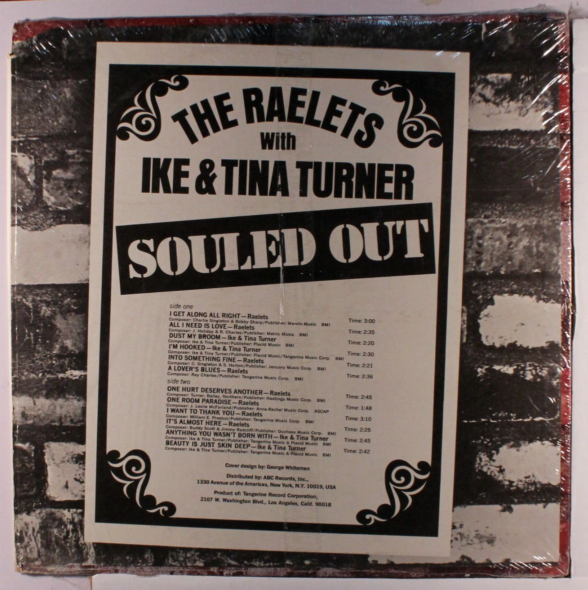 pin by bob stumpel on ray charles raelettes the o ike tina turner revue in 1970 and tangerine released an odd album featuring both acts both doing their own things souled out in 1971 ray charles