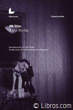 """""""Stim se pasea por las calles del Berlín actual como en el siglo pasado Fellini paseó por Roma y Walter Benjamin por París, estos 'paisajes construidos de pura vida' (Hugo von Hofmannsthal). Siendo el observador atento, cerebral y sutil que es, llama la atención sobre los estados de ánimo, las voces, los olores, los colores y los sonidos de la ciudad."""" [Martina Wunderer] http://www.goethe.de/ins/es/mad/prj/ber/deu/der/sti/es13227848.htm"""