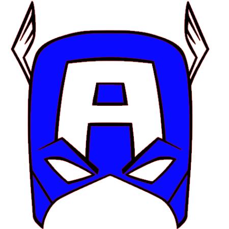 captain america masque - Masque Captain America