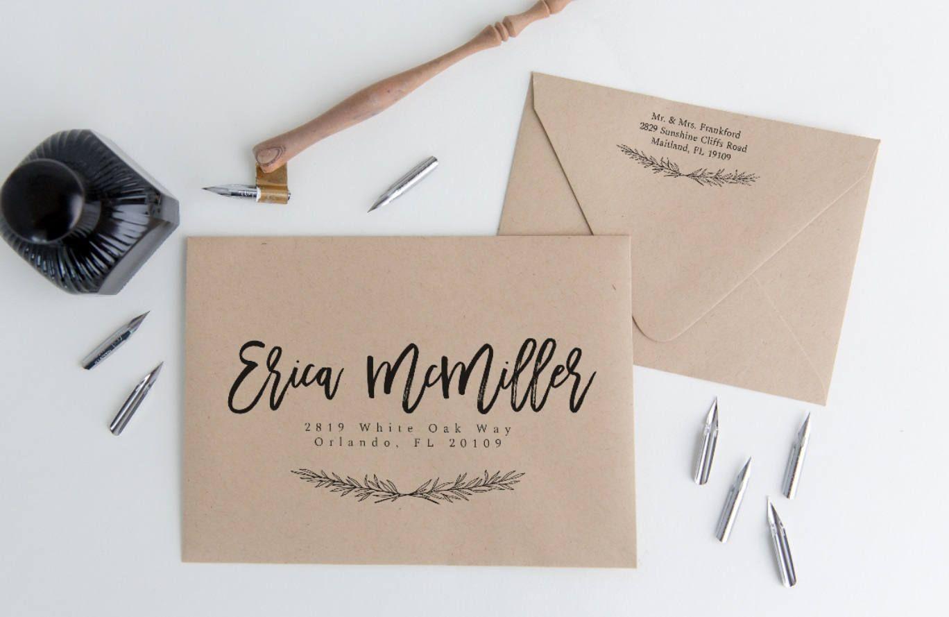 Envelope Address Template Printable Special Delivery Envelope