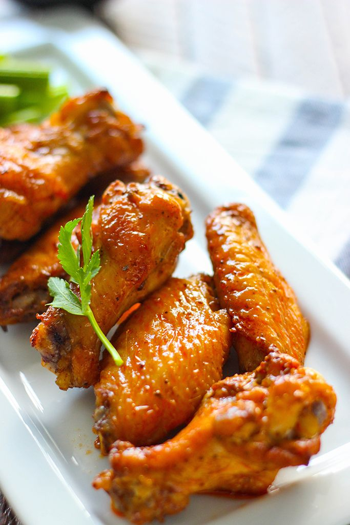 Oven baked old bay buffalo wings recipe wings oven for Fish and wings