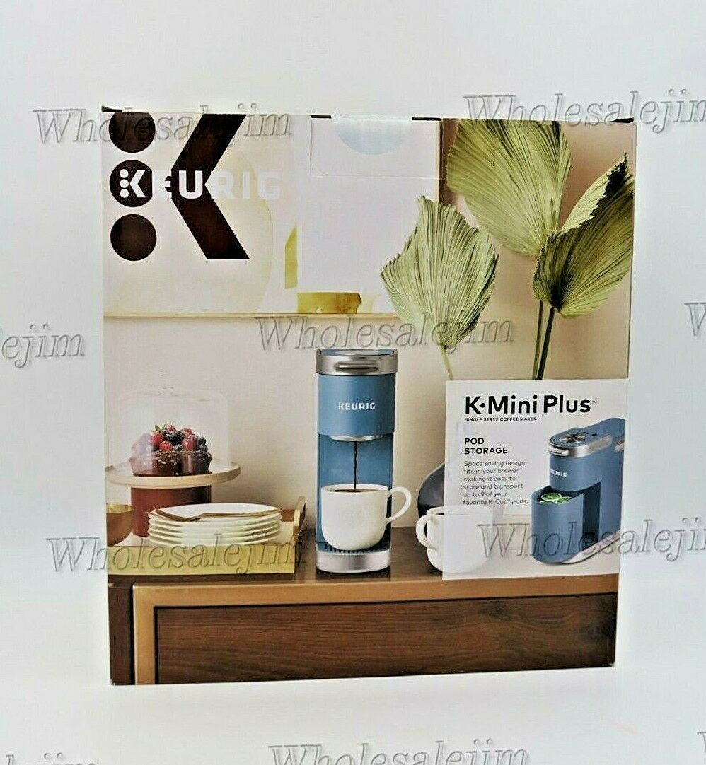 Keurig KMini Plus Single Serve Coffee Maker Pod Storage