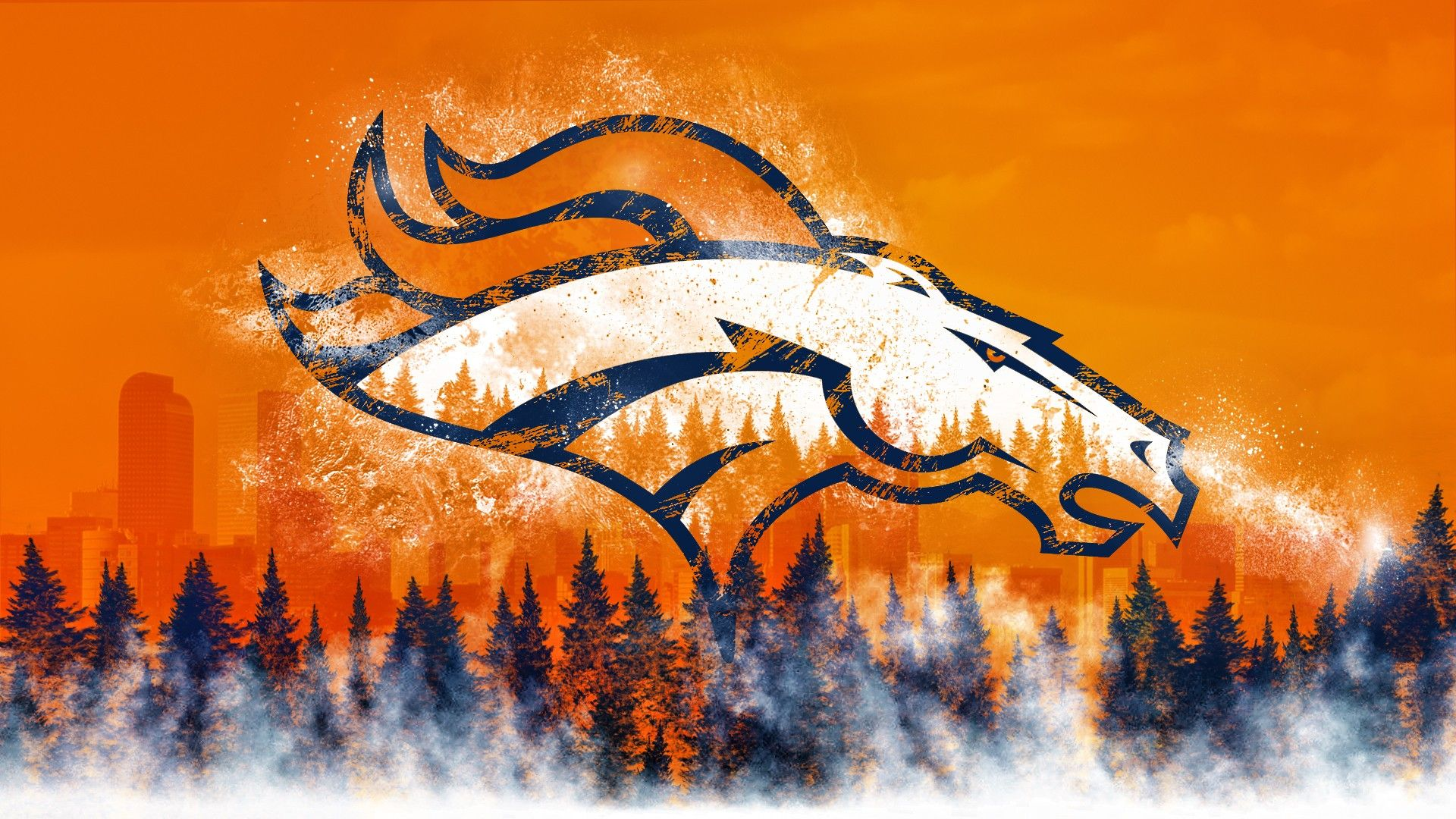 Best Iphone X Wallpaper Live Cool Denver Broncos Wallpaper 2018 Wallpapers Hd