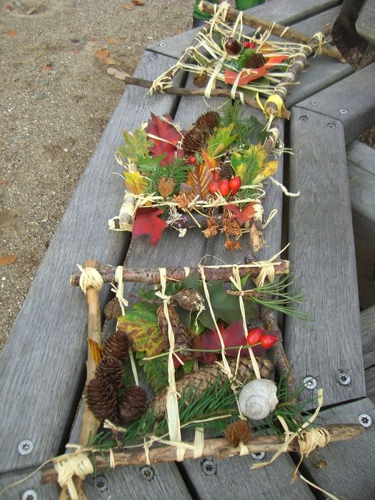 Herbstbasteln | Basteln mit naturmaterialien herbst ...