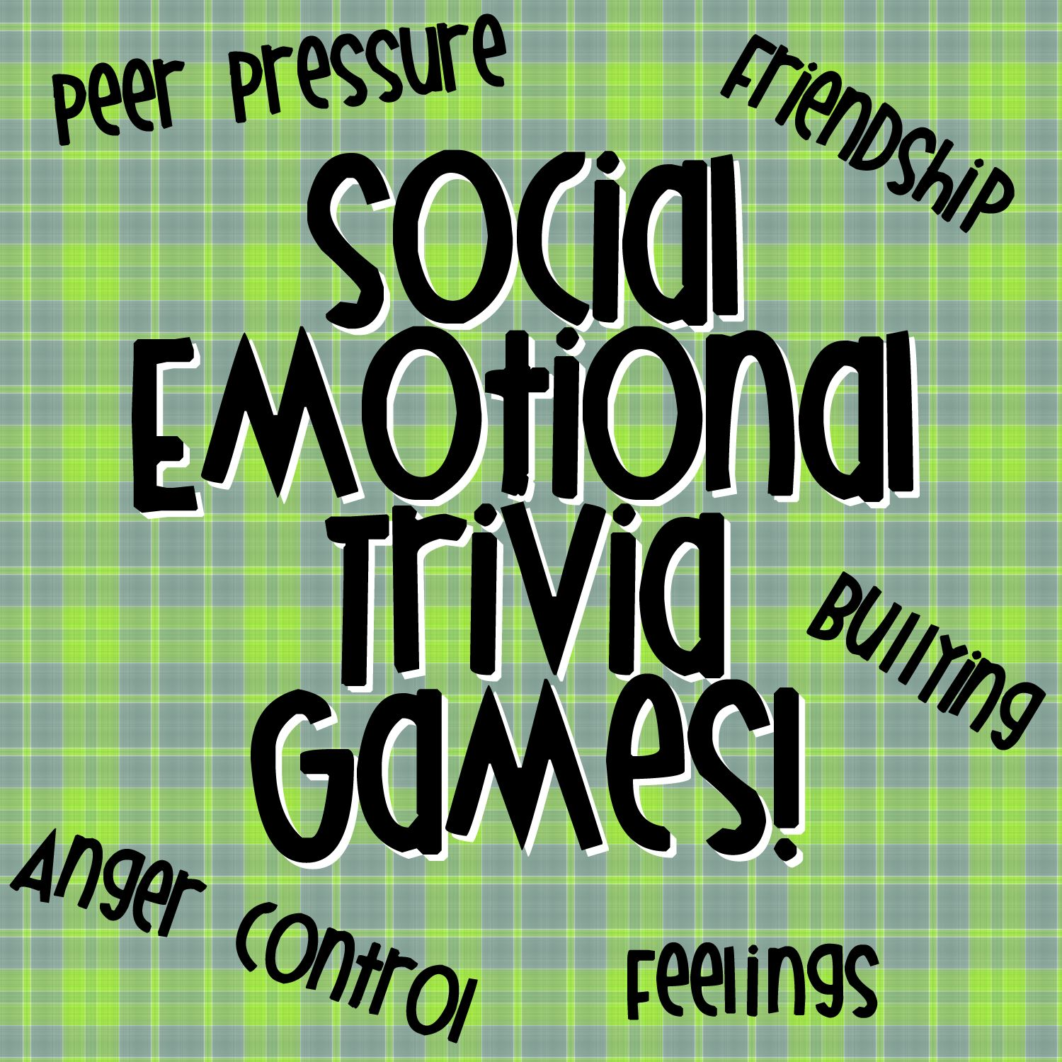 New Product Social Emotional Trivia Games