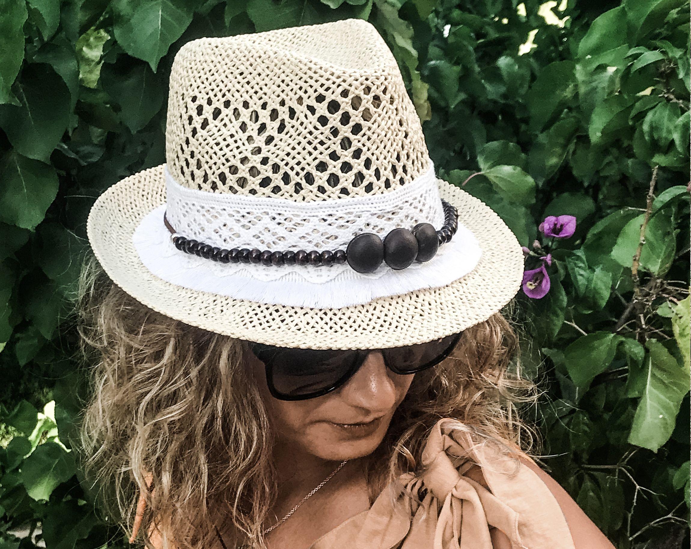 Ivory Straw Hat