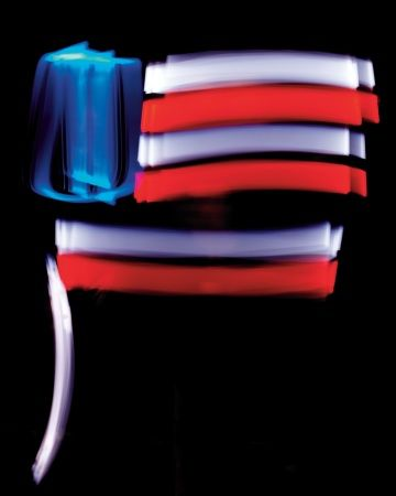 Patriotic Red, White, and Blue Crafts and Party Decorations | Glow ...