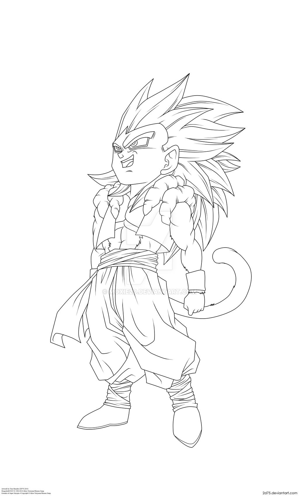 Vegito Ssj4 Coloring Pages Dragon Ball Artwork Dragon Ball Art Dragon Ball Super Art