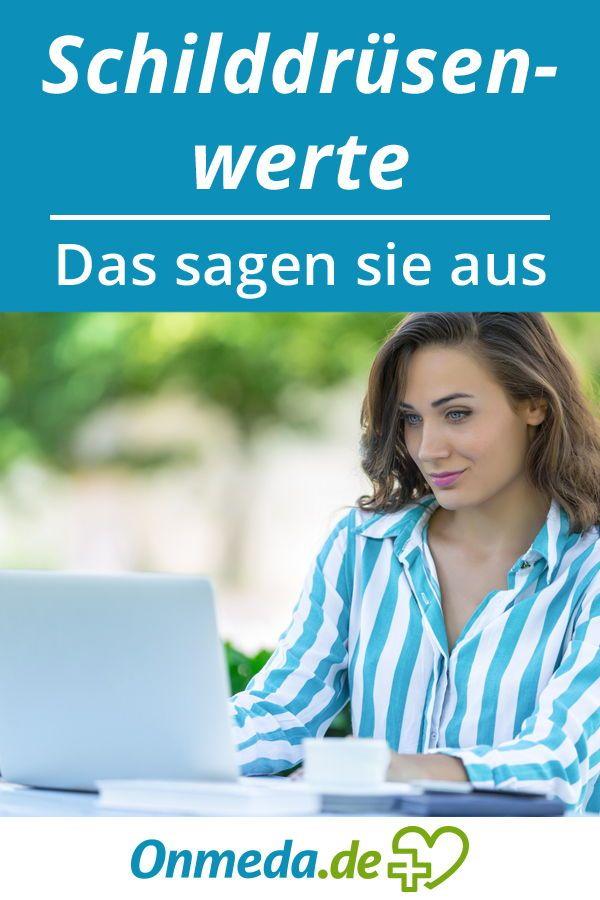 Schilddrüsenwerte: Zu hoch oder zu niedrig? (+Tabelle) - Onmeda.de