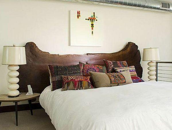 holz schlafzimmer betten altholz kopfteil kopfteilen aus holz treibholz kopfbrett holzbetten hausgemachten kopfteile einzigartige kopfteile - Hausgemachte Kopfteile Fr Betten