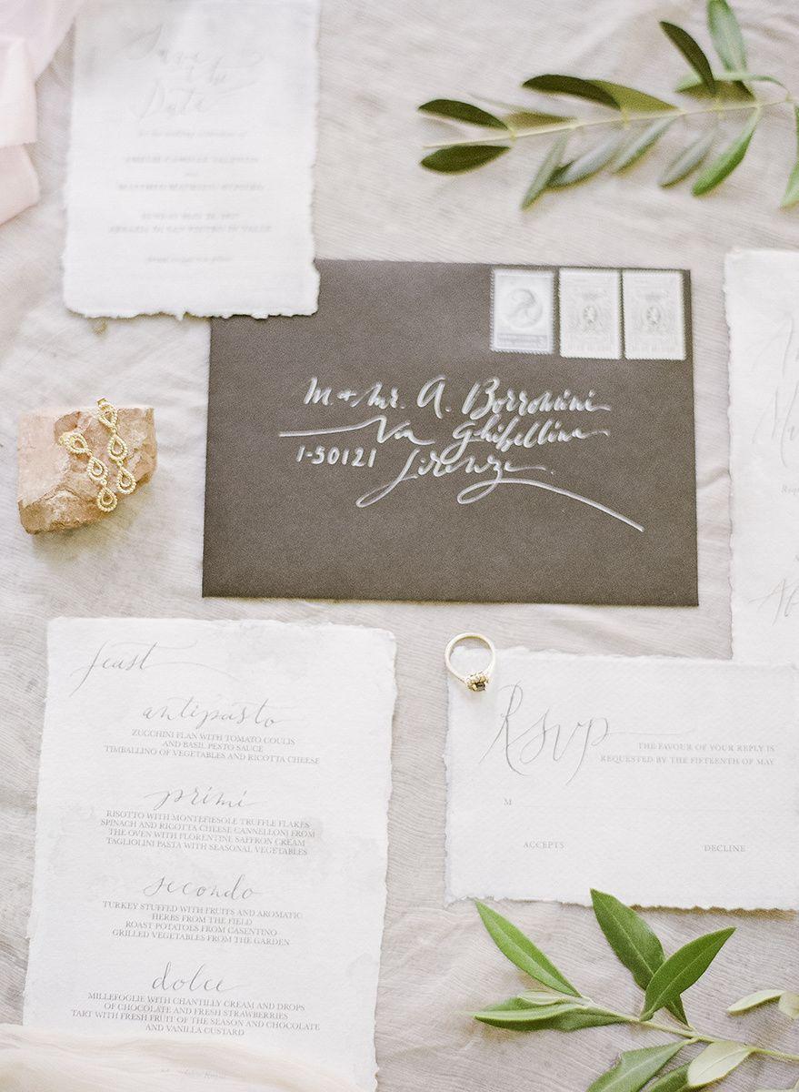 Busta Matrimonio Toscana : Inviti matrimonio scritti a mano calligrafia matrimonio perugia