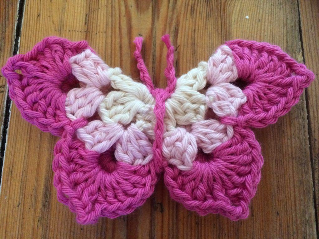 Butterfly Crochet Pattern | Pinterest | Crochet butterfly pattern ...