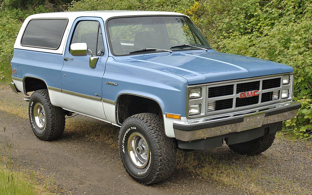 1984 Gmc Jimmy 4x4 Gmc Trucks 4x4
