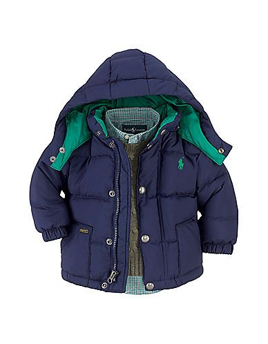 Lovely Ralph Lauren baby boy down jacket. Must have for ...