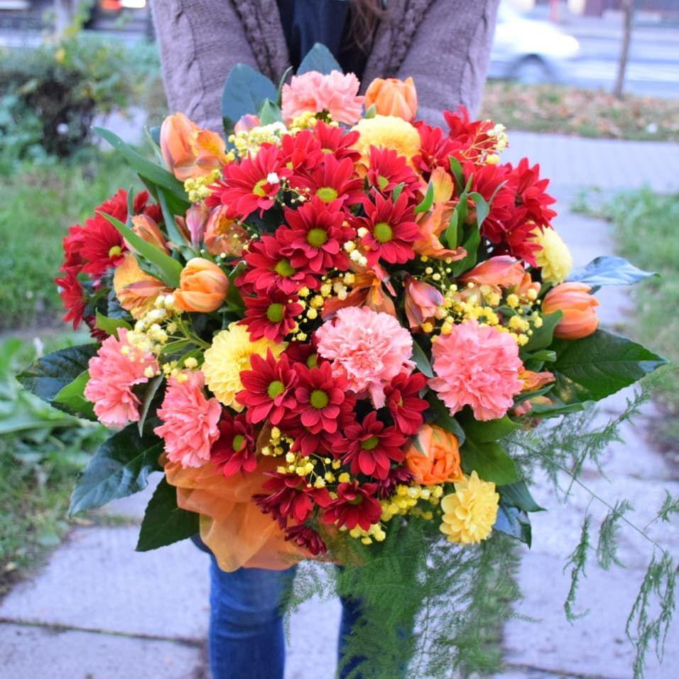 Dzien Dobry Milej Niedzieli Kwiaciarnia Maranta Ul Jana Pawla Ii Kwiaciarnia Magnolia Ul Slowackiego 186 Kwiaciarn Floral Floral Wreath Wreaths
