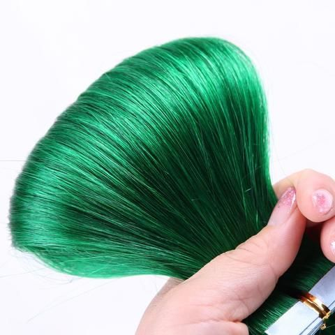 Green color 100 remy tape in human hair extensions lodyhair green color 100 remy tape in human hair extensions lodyhair pmusecretfo Gallery
