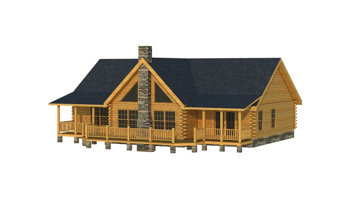 Adair Ii Plans Information Log Homes Log Cabin Floor Plans