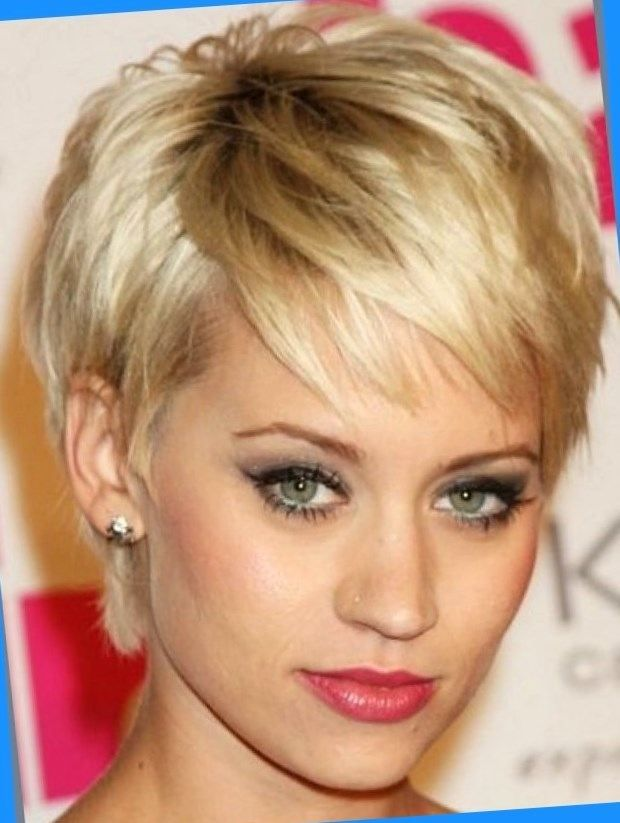 medium razored short haircut wispy ends styled to flip