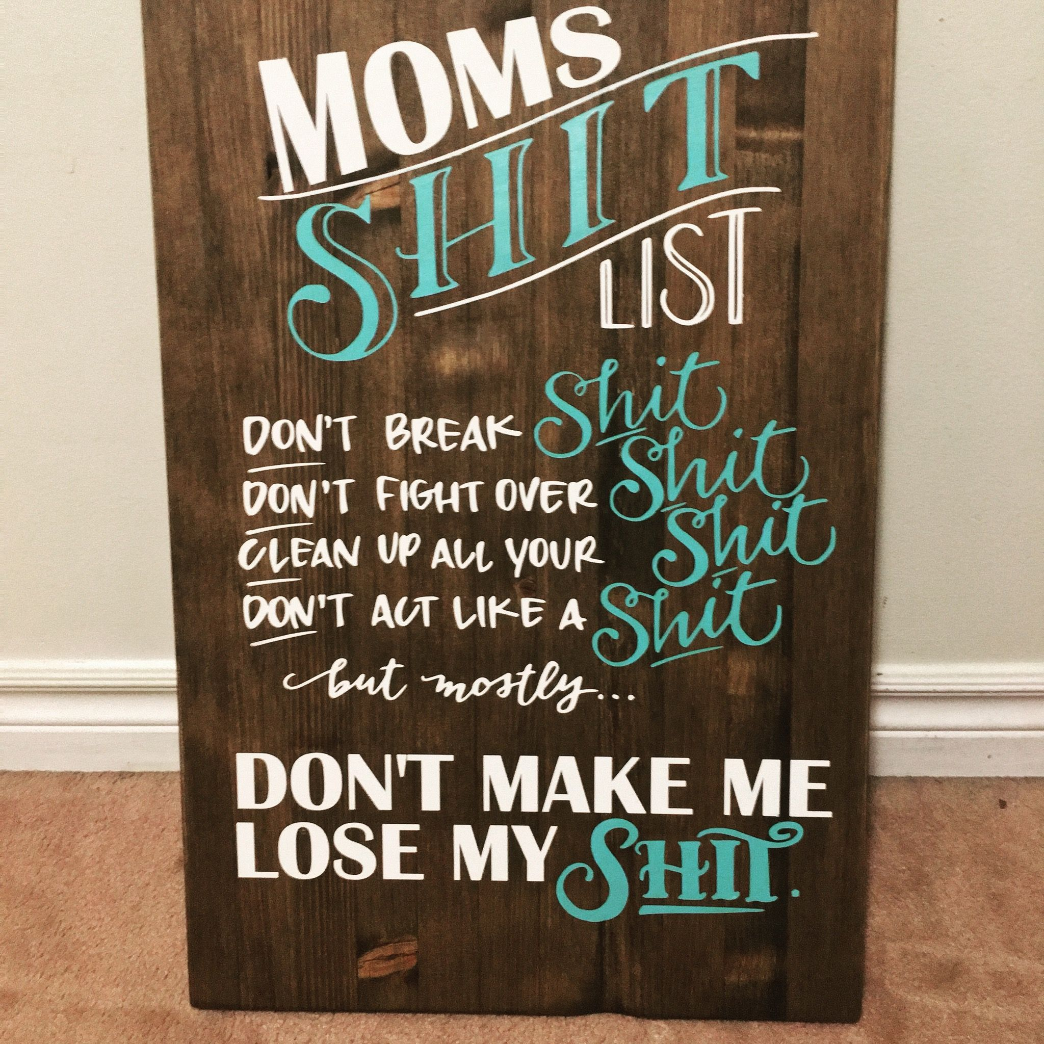 Chalkboard quote art by Giggles And Hearts Creations on