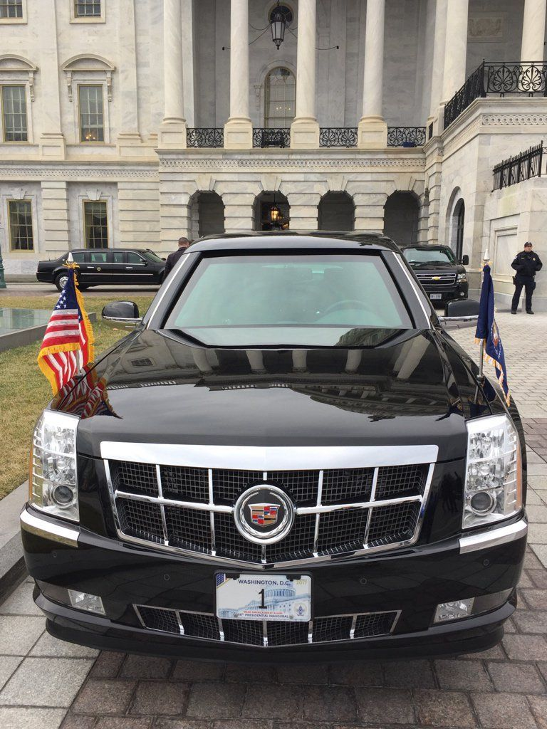 President Trump's Limousine, Cadillac Limo, Limos, Limo Service, www