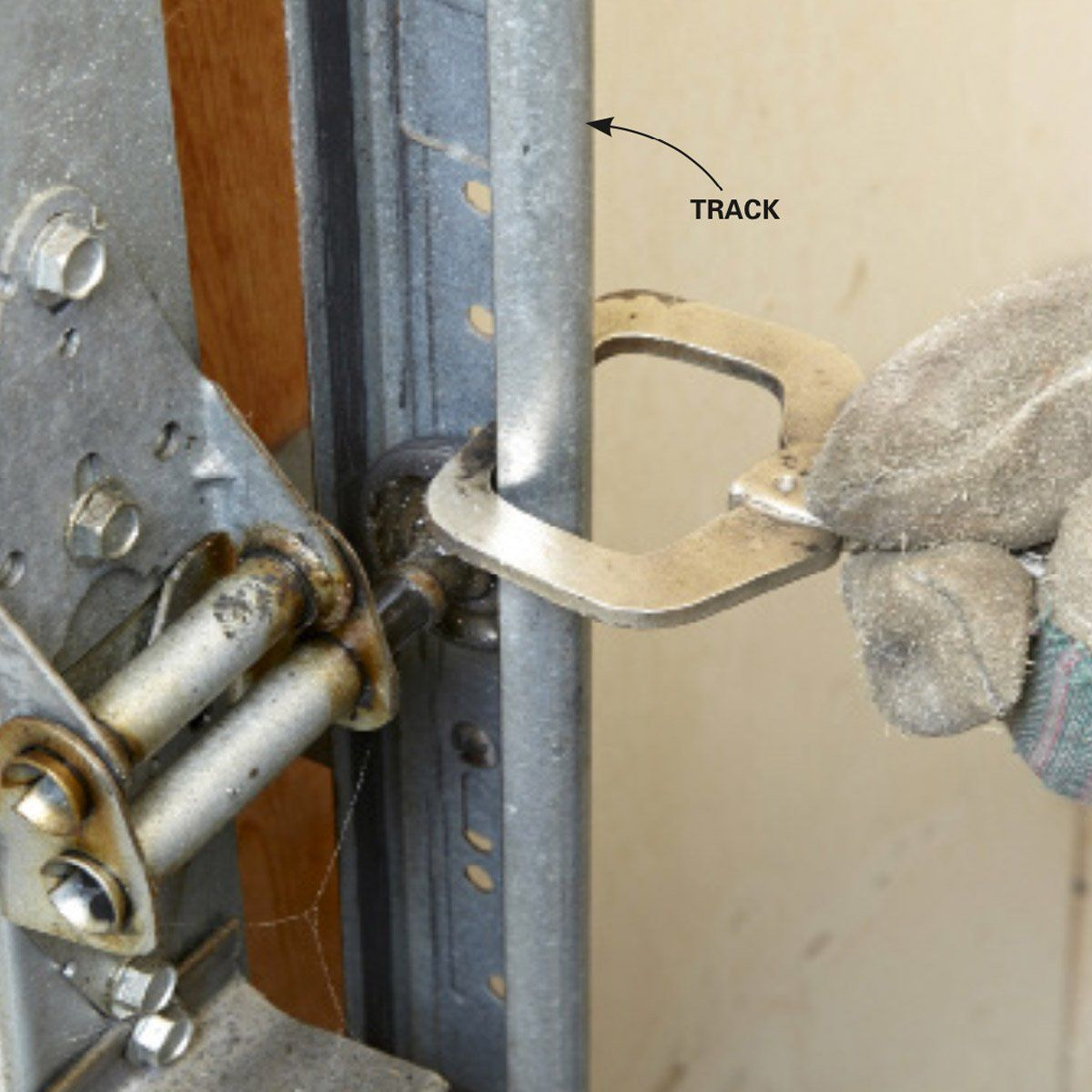 How to Repair Garage Door Springs and Cables | Garage door ... on Overhead Garage Door Spring Replacement  id=38628