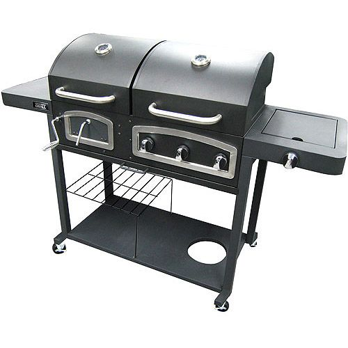 Backyard Grill 750-Square Inch Dual Gas/Charcoal Grill ...