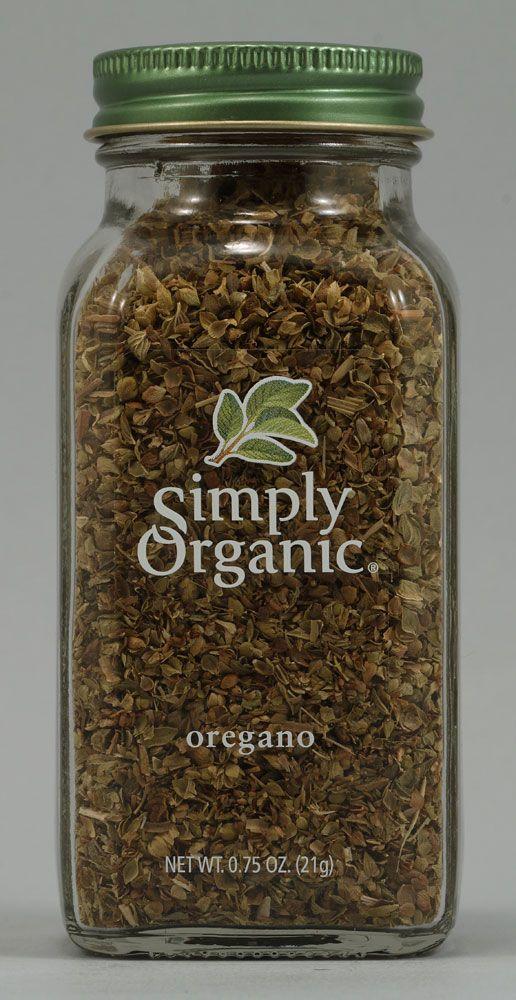 Simply Organic Oregano 0 75 Oz Simply Organic Organic Oregano