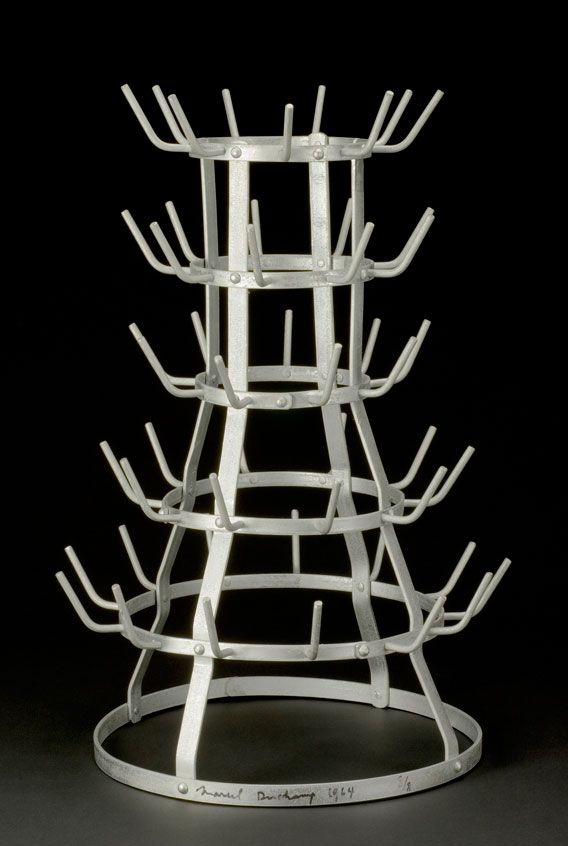 Marcel Duchamp Bottle Dryer Rack 1914 Reconstructed 1964 But I Want A Of My Very Own To Use