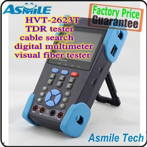 """256.50$  Buy here - http://ali0er.worldwells.pw/go.php?t=1902034033 - """"HVT-2623T 3.5"""""""" LCD CCTV POE Visual Fiber Tester DVR PTZ TDR Digital Multimeter"""" 256.50$"""