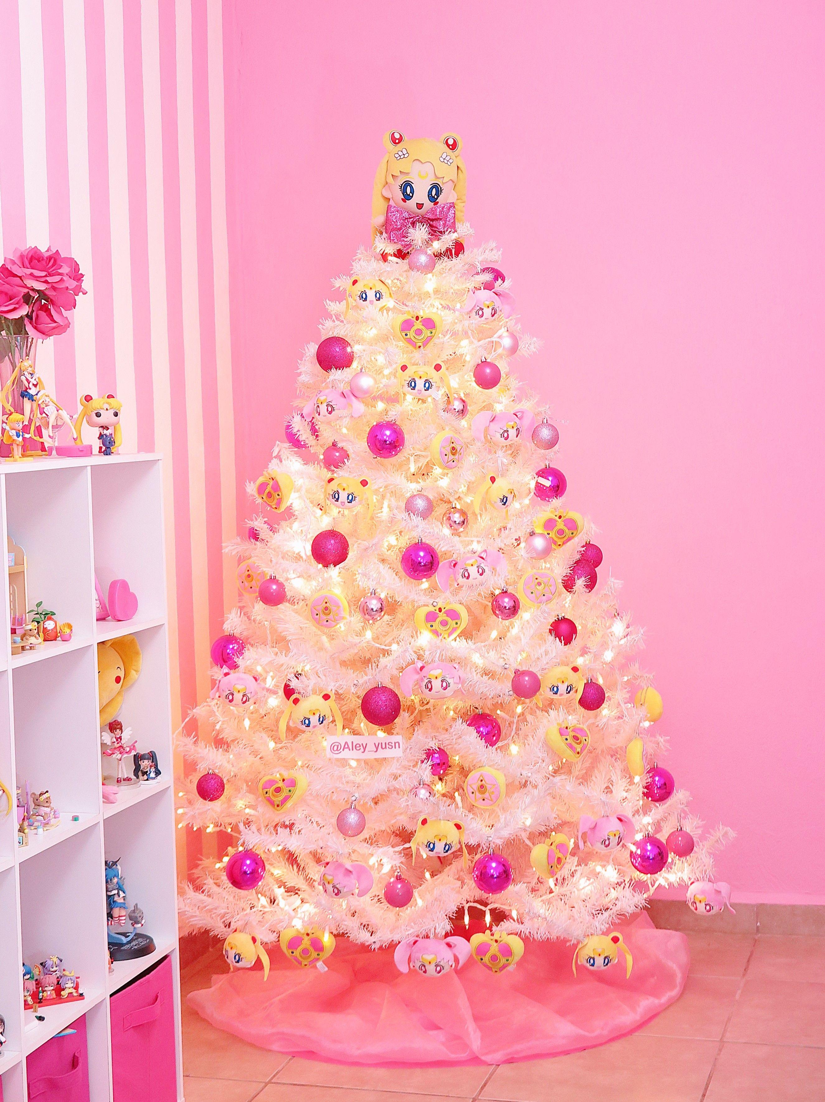 Sailor Moon Christmas Tree Kawaii Christmas Christmas Tree Moon Decor