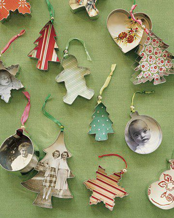 Cookie cutters with pictures ornament