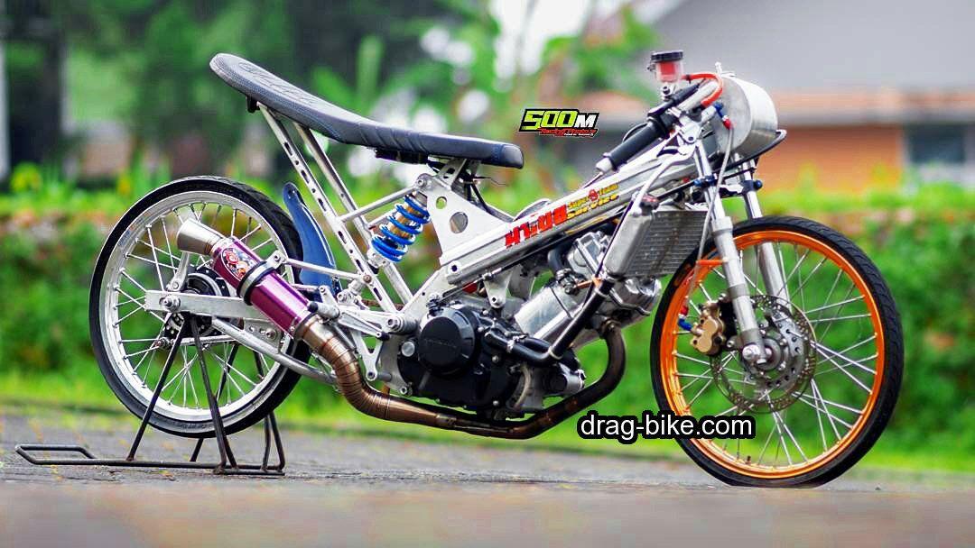 Modifikasi Honda Sonic Drag Thailand Mothai Honda Sepeda Thailand