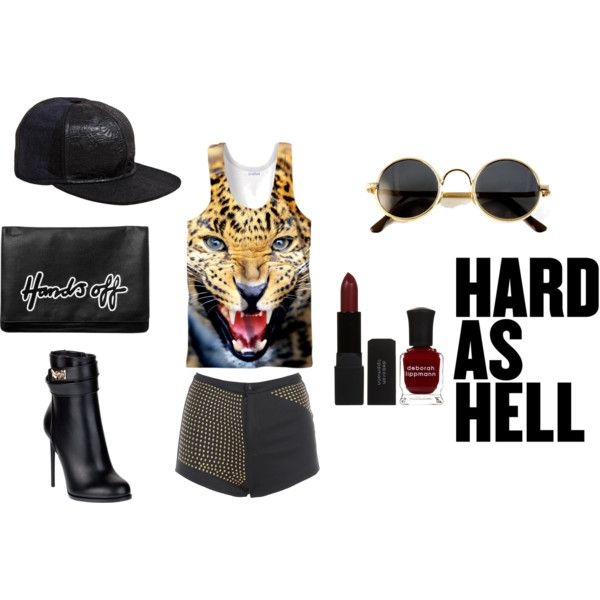 """Hard as Hell"" by eunalodripas on Polyvore"