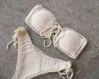 Crochet Bikini Crochet Swimwear Crochet Bathing Suit Crochet