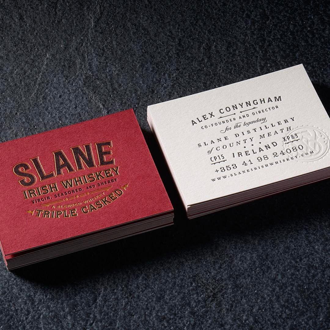 Chad michael studio slane irish whiskey typography business chad michael studio slane irish whiskey typography business cards magicingreecefo Gallery