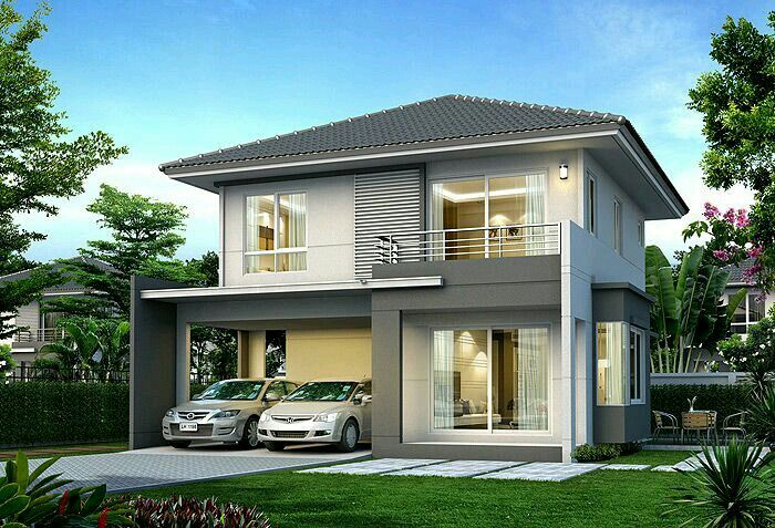 Rumah model dormer roof modern bungalow small house design detached plane also type single  rh pinterest