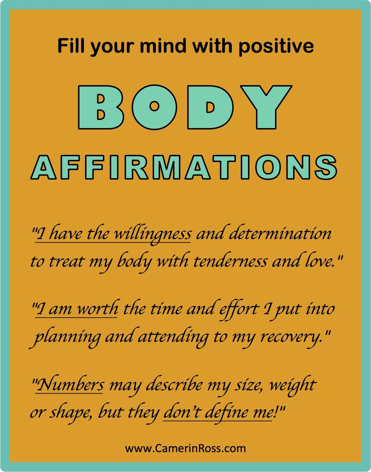 Couples positive affirmations for 40 Affirmations