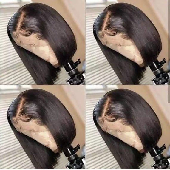 Best quality 13x4 Lace Front Short Bob Wig Human H