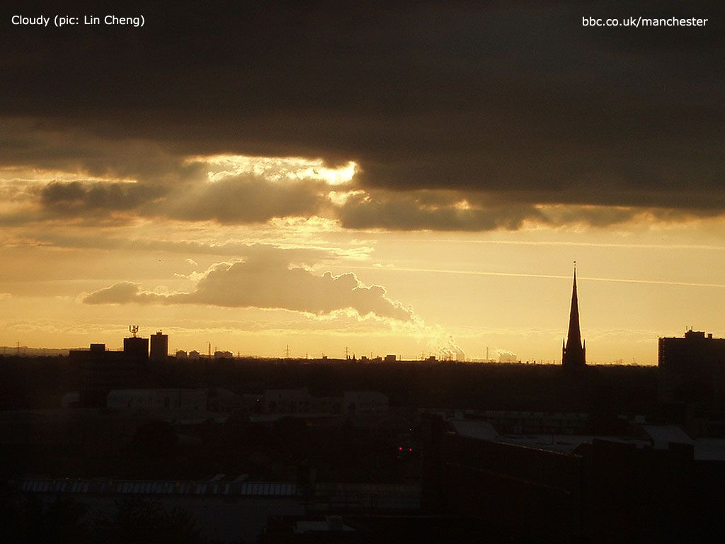 Manchester skyline ~ more BBC Manchester photos here ~ http://www.bbc.co.uk/manchester/in_pictures/mcr_wallpaper/index.shtml