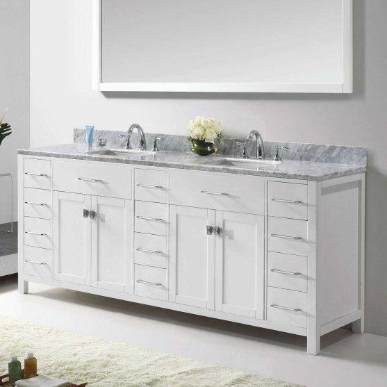 "Latitude Run® Savitsky 78"" Bathroom Vanity Base Only ..."