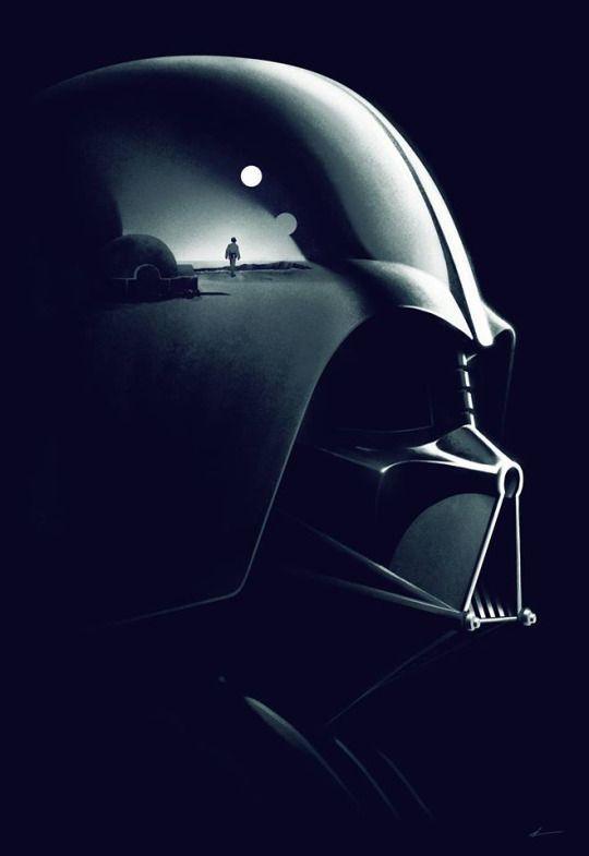 Starwars Darth Vader The Reflection Of Little Anakin