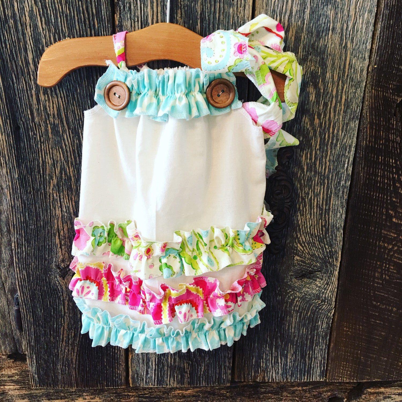 Baby Girl Ruffle Dress Baby Girl Easter Dress Girls Beach Dress