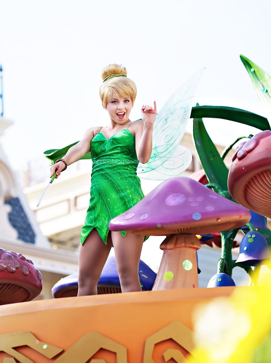 Disneyland // Tinkerbell // Peter Pan // Mickey's Soundsational Parade