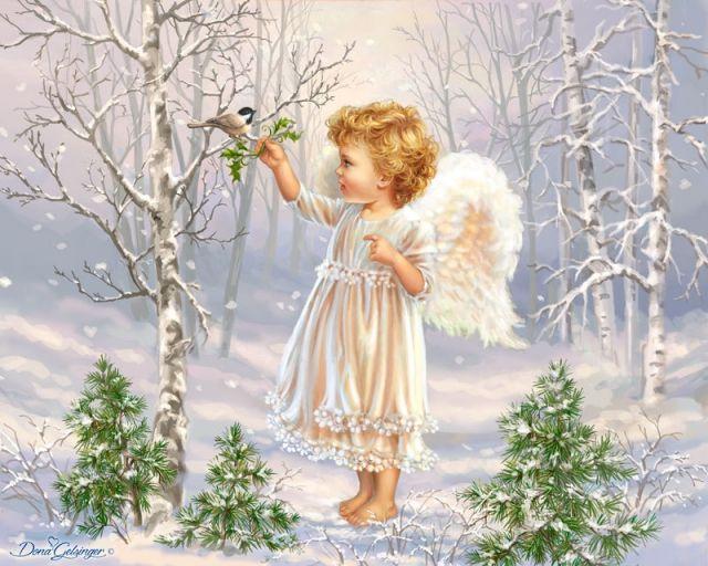 Снежный ангел творил в небесах Чудеса...  Dona Gelsinger   Записи AЯT (Искусство)   УОЛ