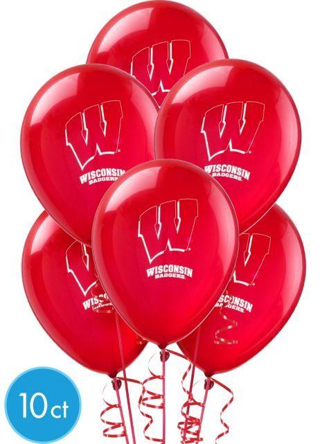 Wisconsin Badgers Balloons