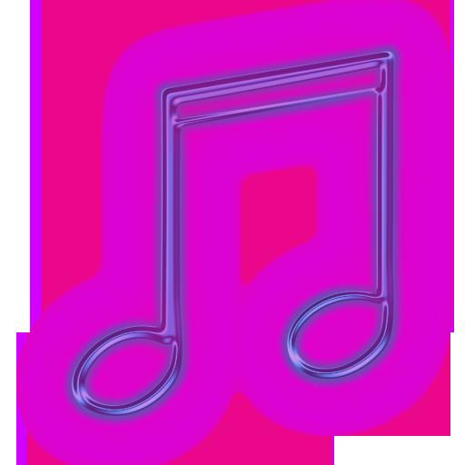3D Purple Music purplemusicnoteclipart113611